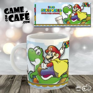 Caneca Super Mario Advance 2