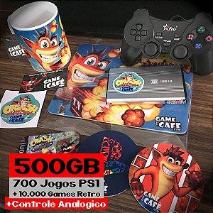 HD 700 Jogos + Controle Analógico + Retros para o Playstation Classic
