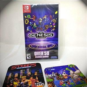 SEGA Genesis Classics - 50 Jogos Mega Drive para Nintendo Switch