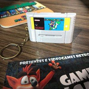Chaveiro Super Mario World - Super Famicom