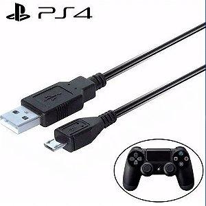 Cabo Micro USB para Carregar Controle de PS4