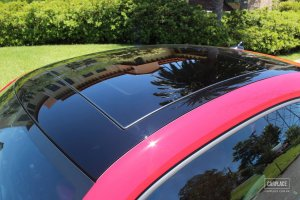 vidro teto solar novo fusca original