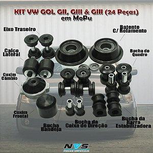 KIT VW GOL MOPU ( 24 PEÇAS )