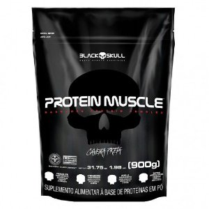 PROTEIN MUSCLE BLACK SKULL