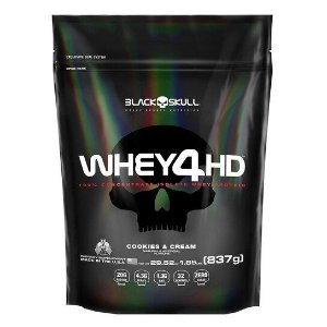 WHEY 4HD BLACK SKULL