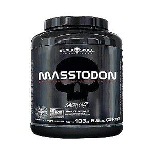MASSTODON 3KG BLACK SKULL