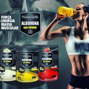 ALBUMINA ASA POWER 500GR