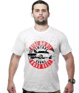 Camiseta Old Car Ride Or Die Bronx