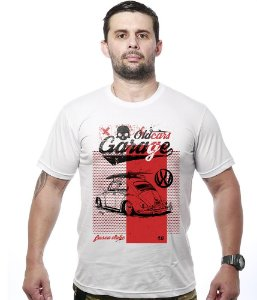 Camiseta Old Car Fusca Garage