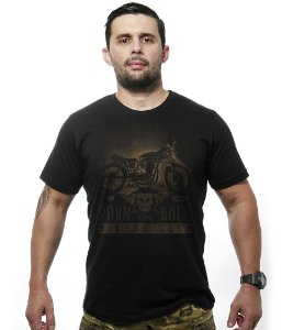Camiseta Motorcycle Old School Born To Race