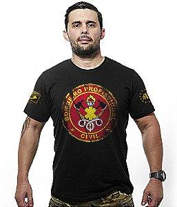 Camiseta Bombeiro Civil Profissional