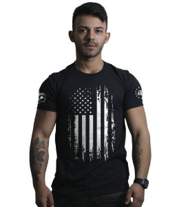 Camiseta Eua Especial Defence Military