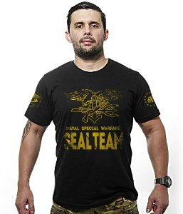 Camiseta Navy Seal Team Especial Warfare