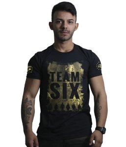 Camiseta Team Six Military Wear