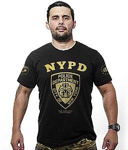 Camiseta Police NYPD Gold Line