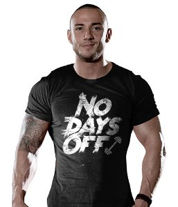 Camiseta Academia No Days Off