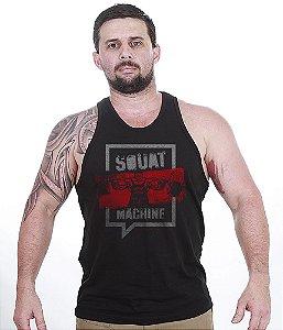 Camiseta Regata Squat Machine