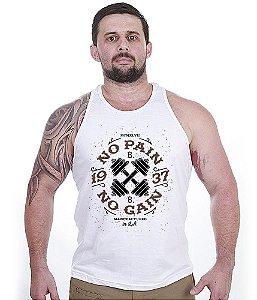 Camiseta Regata No Pain No Gain