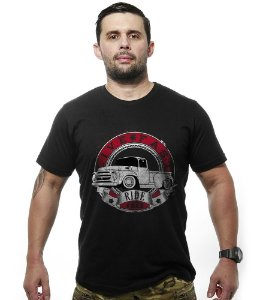 Camiseta Old Car Pickup Live Fast