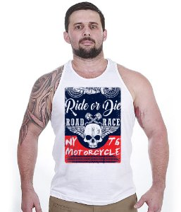 Camiseta Regata Motorcycle T6 Road Race