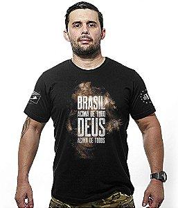 Camiseta Brasil Acima de Tudo