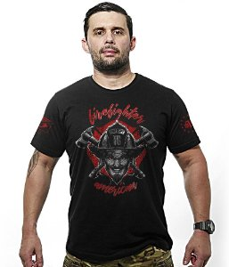 Camiseta American Firefighter