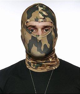 Balaclava Tatica Militar Camuflada Multicam Em Dry Fit Operações especiais