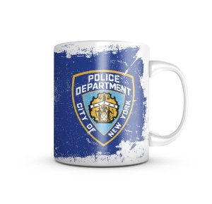 Caneca Police NYPD 325ml