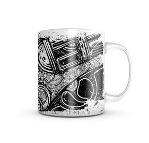 Caneca Gold And Silver 325ml
