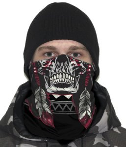 Face Armor Tribal Man