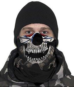 Face Armor Scary Clown