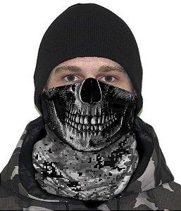 Face Armor Camuflado Digital Urban Black