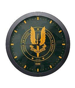 Relógio de Parede SAS Special Air Service