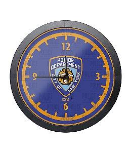 Relógio de Parede Police NYPD