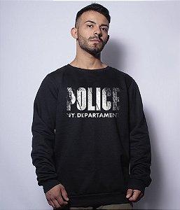 Casaco Básico de Moletom Police