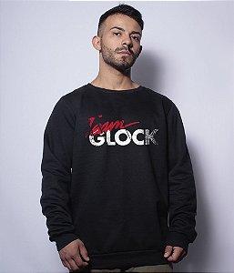 Casaco Básico de Moletom Team Glock