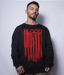 Casaco Básico de Moletom Blood