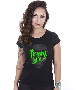 Camiseta Militar Baby Look Feminina Team Six