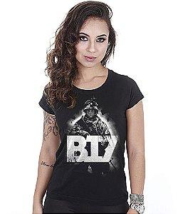 Camiseta Baby Look Feminina Mito B17
