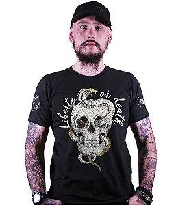 Camiseta Squad T6 Magnata Liberty Or Death