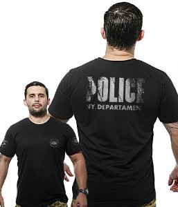 Camiseta Militar Wide Back Police