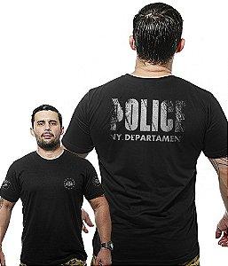 Camiseta Militar Wide Back Police