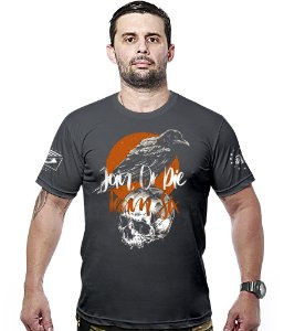 Camiseta Militar Concept Line Team Six Crow Join Or Die