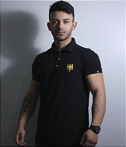 Camiseta Gola Polo Masculina Alemanha Bordada Team Six