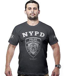 Camiseta Militar NYPD Police Department Hurricane Line
