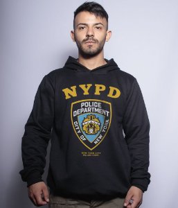 Casaco Militar Com Capuz NYPD Police Department