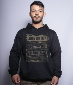Casaco Militar Com Capuz Concept Line Team Six Camu Join Or Die