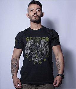 Camiseta Militar Magnata Semper Fidelis