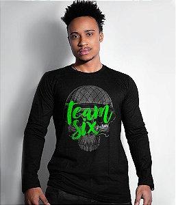 Camiseta Manga Longa Team Six