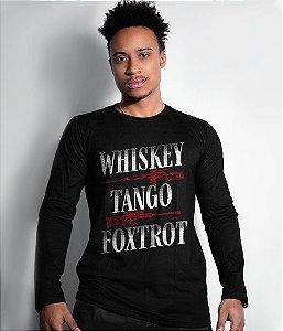 Camiseta Manga Longa Instrutor Fritz Whiskey Tango Foxtrot